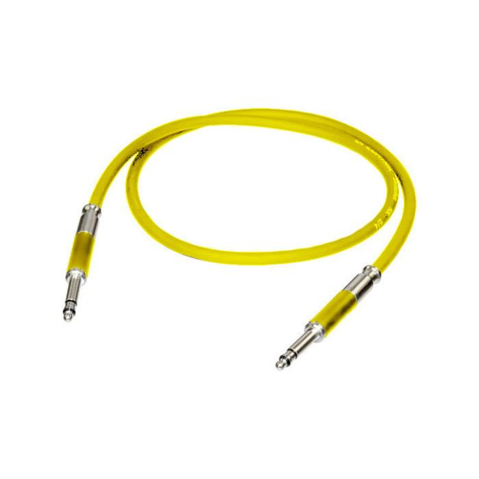 NEUTRIK 1/8'AUDIO PATCH CORD 60cm YELL