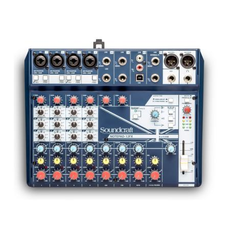 SOUNDCRAFT SMALL MIXER 12 MONO MIC/LINE INPUTS 1