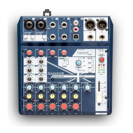 SOUNDCRAFT SMALL MIXER 8 MONO MIC/LINE INPUTS 1