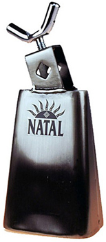 NATAL 1-2'' COWBELL BLK NICKEL WITH SCREW