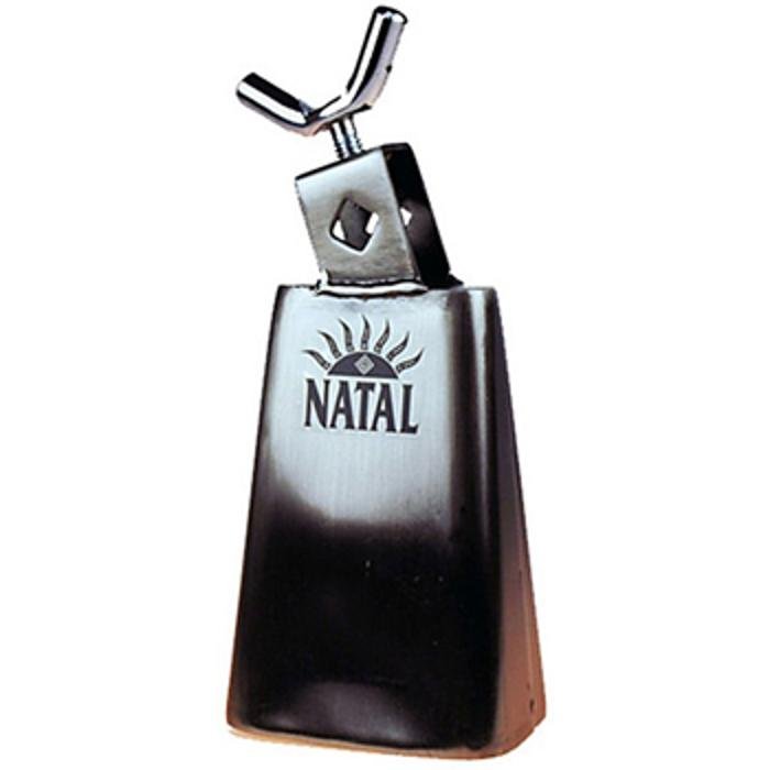 NATAL 1-2'' COWBELL BLK NICKEL WITH SCREW 1