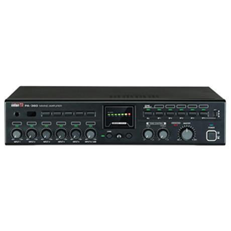 INTER-M MIXER AMPLIFIER 6 INPUTS 360W 4Ω/100V 5 ZONES 1