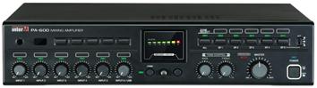 INTER-M MIXER AMPLIFIER 6 INPUTS 600W 4Ω/100V 5 ZONES