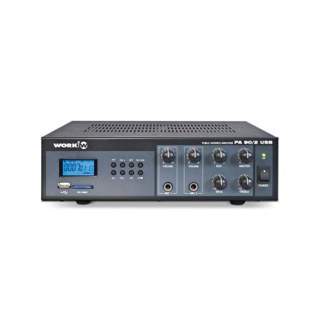 WORK MIXER AMPLIFIER 3 INPUTS 30W WITH USP PLAYER 1