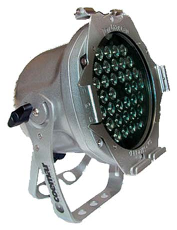COEMAR LED PAR WITH 3200K 36LEDS  12° 36X1,2W