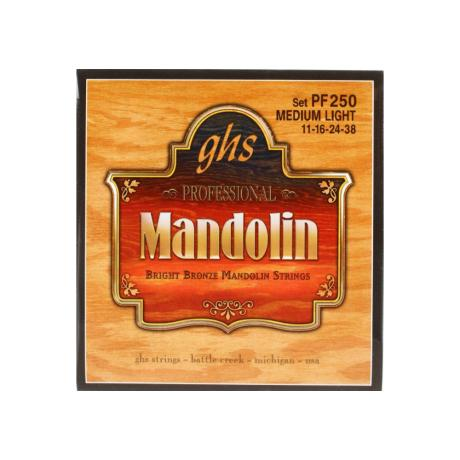 GHS ΣΕΤ ΧΟΡΔΕΣ BRIGHT BRONZE MANDOLIN ML 011-038 1