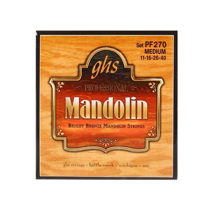 GHS ΣΕΤ ΧΟΡΔΕΣ BRIGHT BRONZE MANDOLIN M 011-040