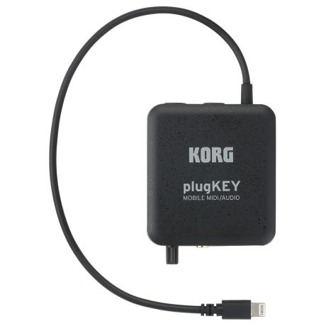 KORG AUDIO MIDI INTERFACE FOR IPHONE/IPAD BLACK 1