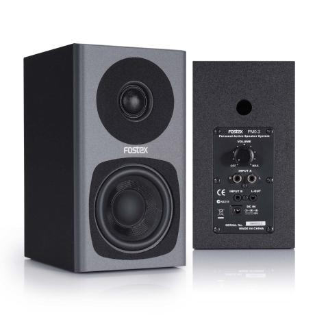 FOSTEX 2-WAYS ACTIVE SPEAKER,2x15W, 3''
