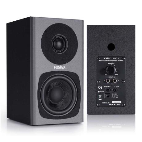 FOSTEX 2-WAYS ACTIVE SPEAKER,2x15W, 3'' 1