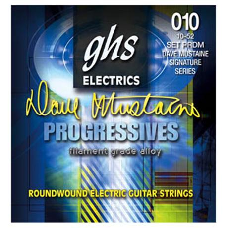 GHS ELECTRIC GUITAR STRINGS DAVE MUSTAINE SIGNATURE 1