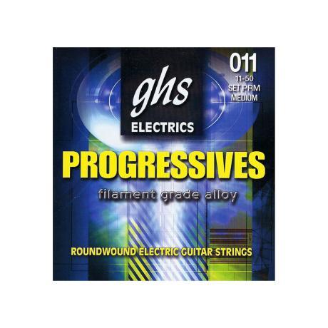 GHS ELECTRIC GUITAR STRINGS PROGRESSIVES M 011-050 1