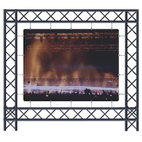 ADEO BACK PROJECTION SCREEN 250x141 16:9 , VISION FOLD