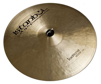ISTANBUL CYMBAL CRASH PAPER THIN 16' TRADITIONAL