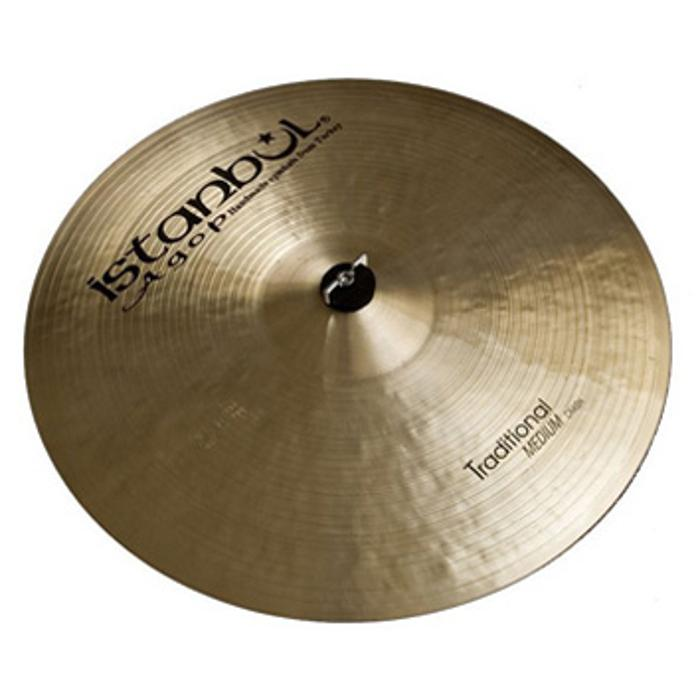 ISTANBUL CYMBAL CRASH PAPER THIN 16' TRADITIONAL 1