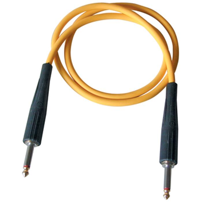 BESPECO PYTHON GUITAR CABLE 3m YELLOW