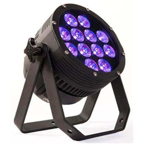 PIXELRANGE PAR LED 10, 112W ΑΛΛΑΓΗΣ ΧΡΩΜΑΤΩΝ F/C RGBW ΜΑΥΡΟΣ 1