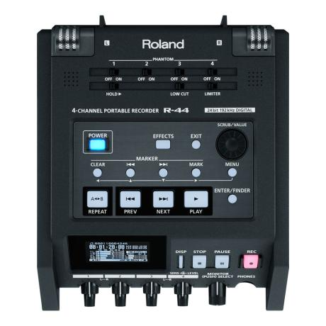 ROLAND 4-CH SD PORTABLE RECORDER