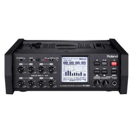 ROLAND 8CH PORTABLE RECORDER W SMPTE CODE 1