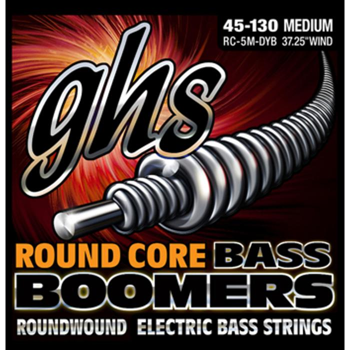 GHS BASS STRINGS ROUND CORE BOOMERS MEDIUM 1