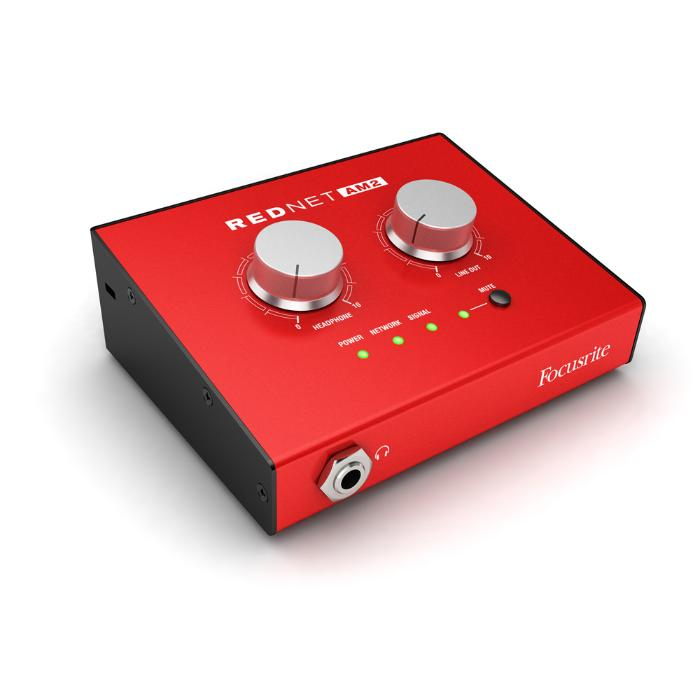 FOCUSRITE DANTE HEADPHONE AMPLIFIER-1