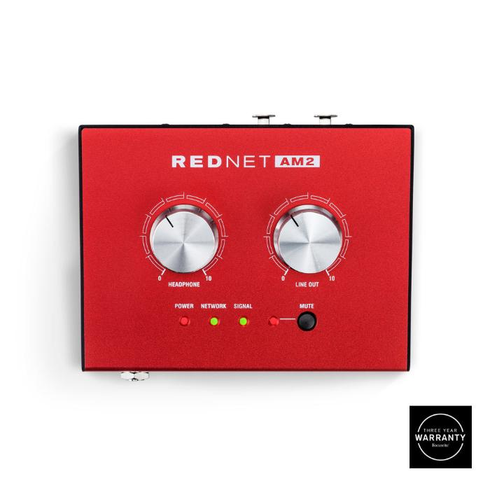 FOCUSRITE DANTE HEADPHONE AMPLIFIER-0