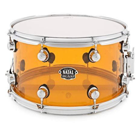 NATAL ACRYLIC SNARE DRUM 14X5,5 ORANGE 1