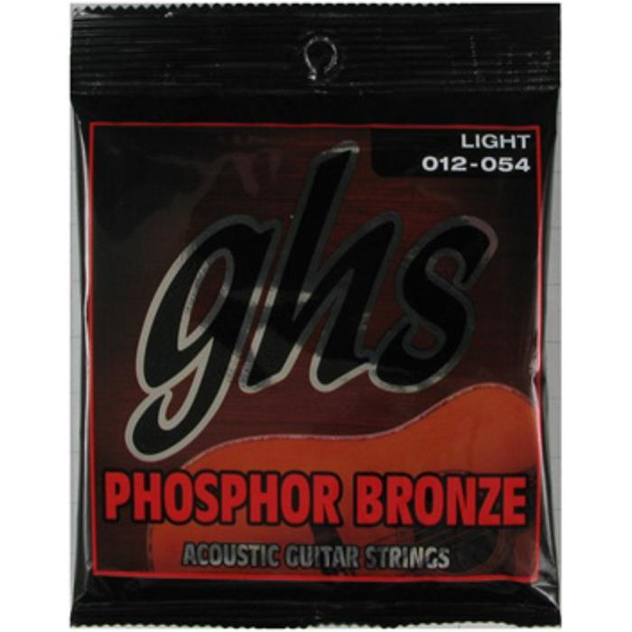 GHS ACOUSTIC GUITAR STRINGS PHOS 1