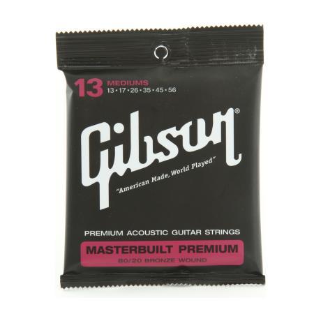 GIBSON ΣΕΤ ΧΟΡΔΕΣ MASTERBUILT PREMIUM 80/20.013.056