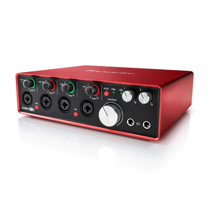 FOCUSRITE USB AUDIO INTERFACE 18 INPUTS/8 OUTPUTS