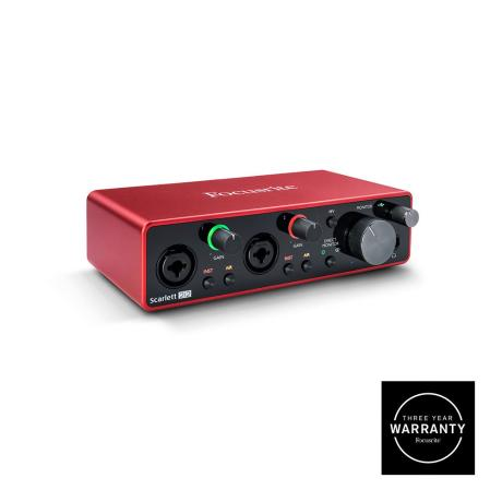 FOCUSRITE USB AUDIO INTERFACE 2IN/2OUT 1