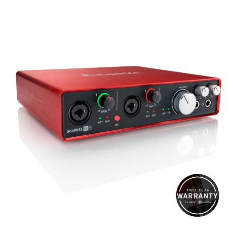 FOCUSRITE USB AUDIO INTERFACE 6 INPUTS/6 OUTPUTS 1