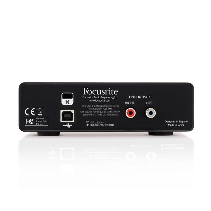 FOCUSRITE ΚΑΡΤΑ ΗΧΟΥ USB 1 ΕΙΣΟΔΟΥ/2 ΕΞΟΔΩΝ 4