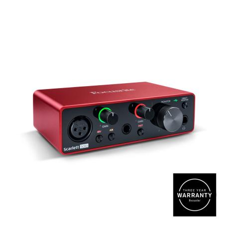 FOCUSRITE USB AUDIO INTERFACE 1 IN/2 OUT 1