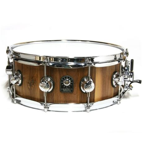 NATAL PURE STAVE 14X5,5 WALNUT SNARE DRUM 1
