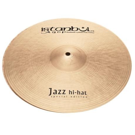 ISTANBUL ΠΙΑΤΙΝΙ 14'' SPECIAL EDITION JAZZ HI HAT 1