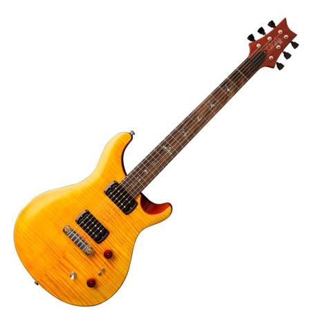PRS GUITARS ELECTRIC GUITAR 2019 SE PAULS AMBER/TOBACCO BACK 1