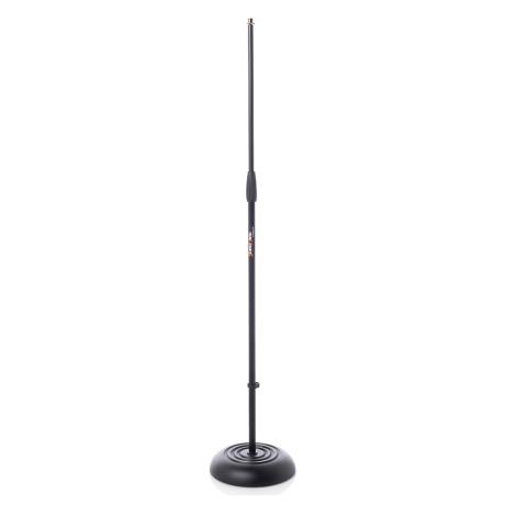 BESPECO STRAIGHT MIC STAND WITH ROUND BASE