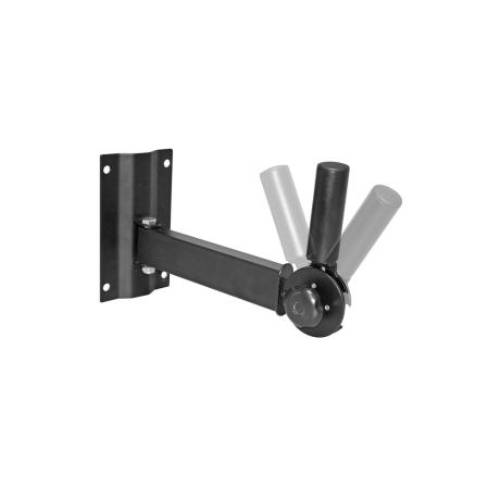 BESPECO WALL MOUNT STEEL SPEAKER BRACKET WITH 35mm POLE