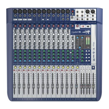 SOUNDCRAFT COMPACT ANALOG MIXING12 MONO/2 ST.-LEXICON EFFECTS 1
