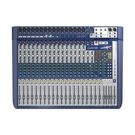 SOUNDCRAFT COMPACT ANALOG MIXING 16 MONO/2 ST.-LEXICON EFFECTS