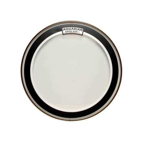 AQUARIAN 16'' CLEAR SINGLE PLY SUPER KICKDRUMHEAD 1
