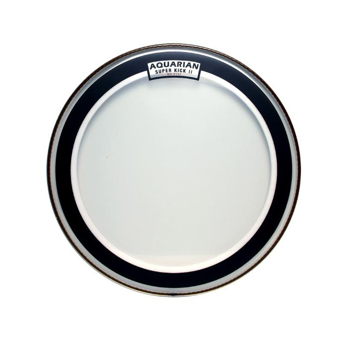 AQUARIAN 18'' CLEAR DOUBLE PLY SUPER KICKDRUMHEAD