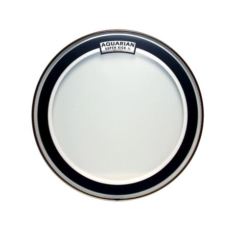 AQUARIAN 22'' CLEAR DOUBLE PLY SUPER KICKDRUMHEAD 1