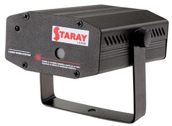 STARAY LASER RG RED 80mW/650nm/GREEN 30mW/532nm