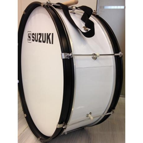 SUZUKI STUDENT BASS MARCHING DRUM 24''x8.5''x8-LUG W/DRUM