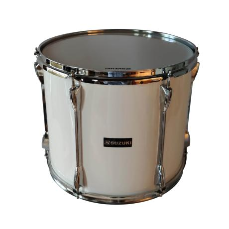 SUZUKI TENOR DRUM 14''X12''X6'' WHITE 1