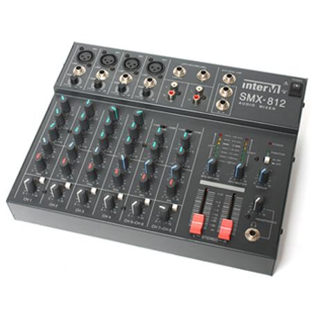 INTER-M LINE MIXER 4MIC, 2STEREO