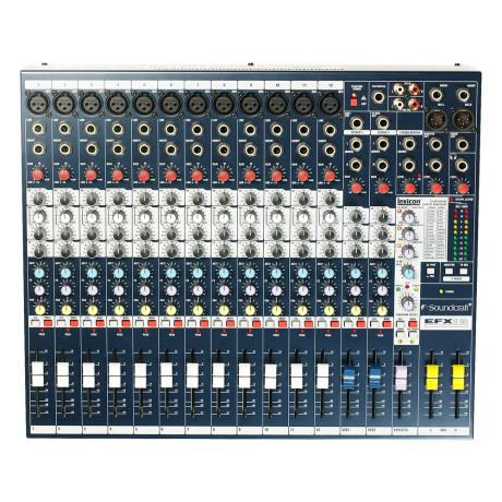 SOUNDCRAFT MIXING CONSOLE 12CH WITH DIGITAL EFFECTS 1
