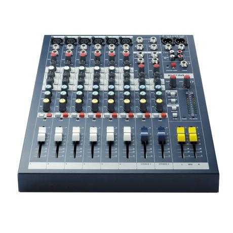 SOUNDCRAFT MIXING CONSOLE 6MONO/2STEREO
